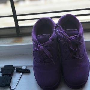 Heelys Size 2 Purple